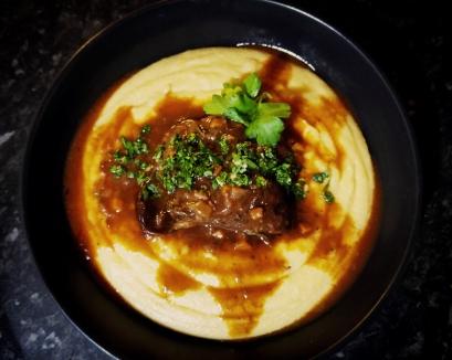 Beef Cheeks and Polenta